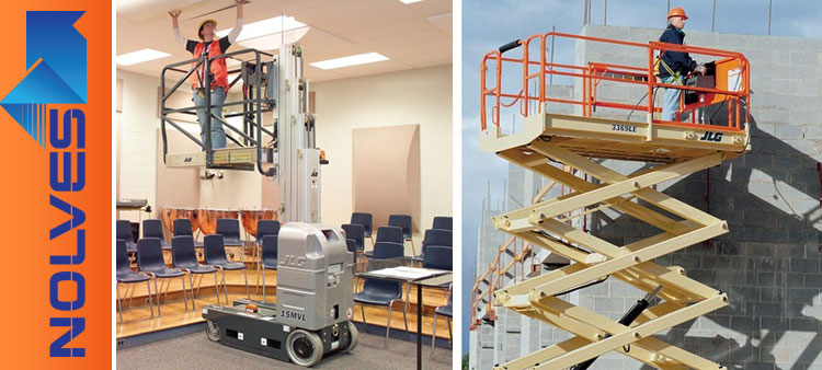 Vertical Scissor Lifts