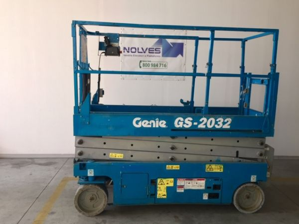 Electrical scissor lift Genie mod: GS 2032 - V80 342 - Foto #