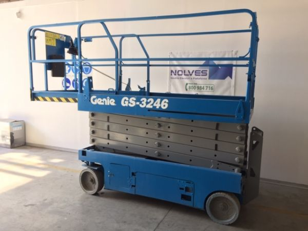 Electrical scissor lift Genie mod: GS 3246 - V120 360 - Foto #