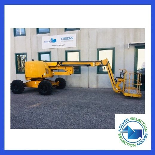 Articulated boom lift diesel Haulotte mod: HA 18PX (GD 391) - Foto #