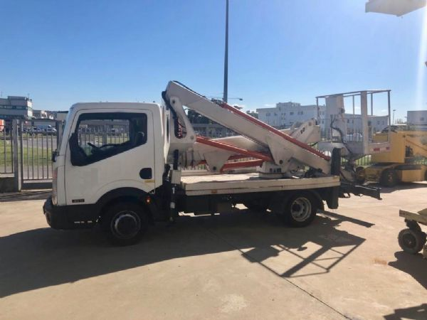 Articulated truck-mounted boom lift Multitel mod: MX 200 - Foto #