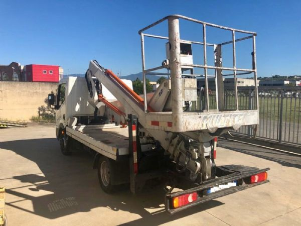 Articulated truck-mounted boom lift Multitel mod: MX 200 - Foto #9