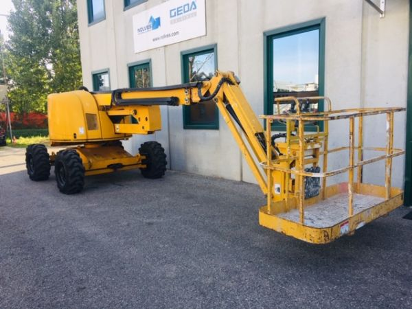 Articulated boom lift diesel Haulotte mod: HA 18PX (GD 391) - Foto #3