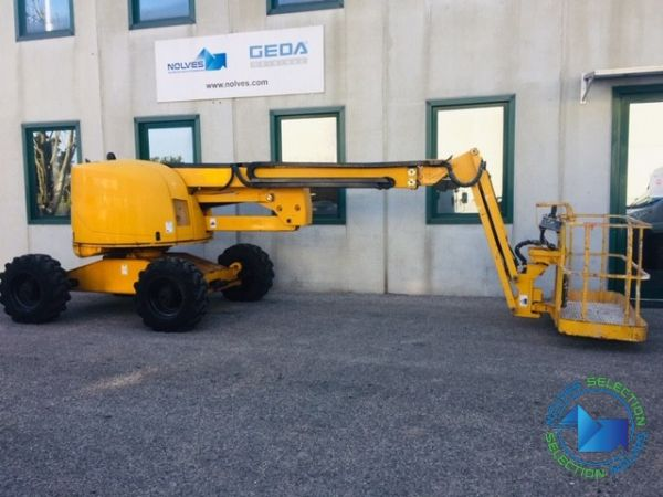 Articulated boom lift diesel Haulotte mod: HA 18PX (GD 391) - Foto #2