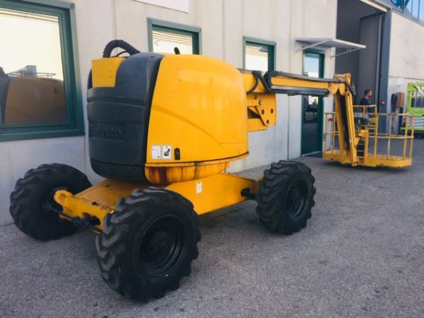 Articulated boom lift diesel Haulotte mod: HA 18PX (GD 391) - Foto #5